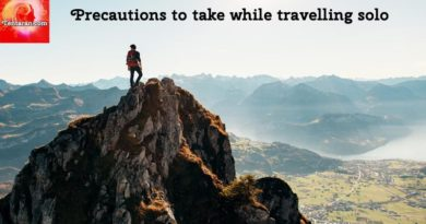 Precautions to take while travelling solo