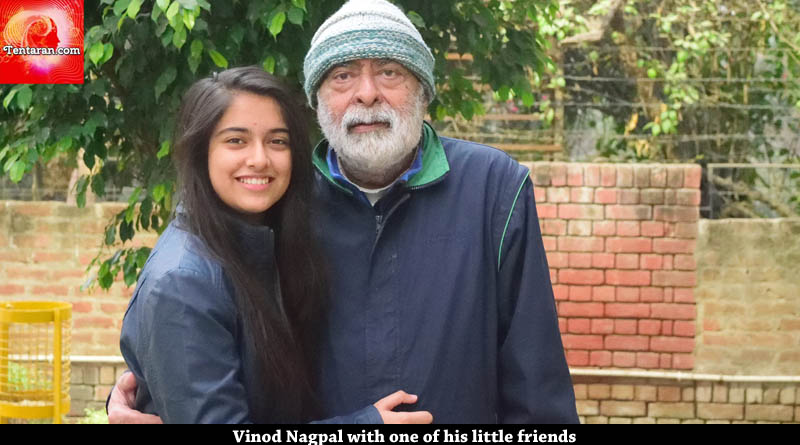 vinod nagpal with his fan