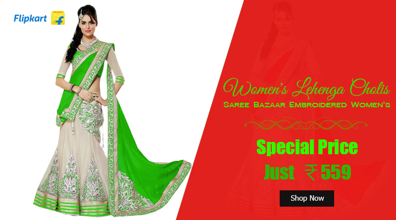 Saree Bazaar Embroidered Women's