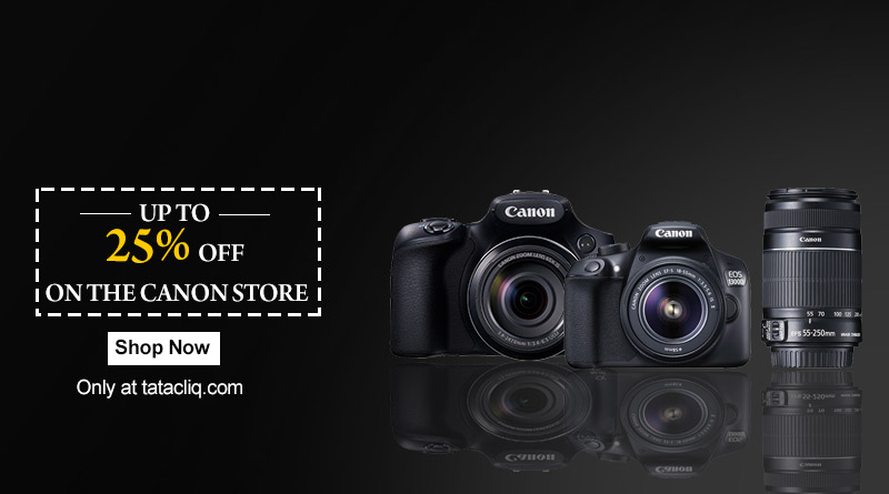 up to 20% off on Canon Store