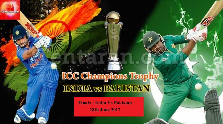 Champion League 2017 final India Vs Pakistan