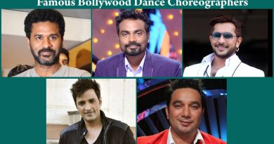 5 Most famous Bollywood Dance Choreographers