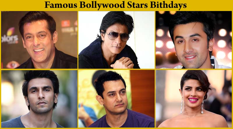 Bollywood Celebrity Birthday in September - YouTube
