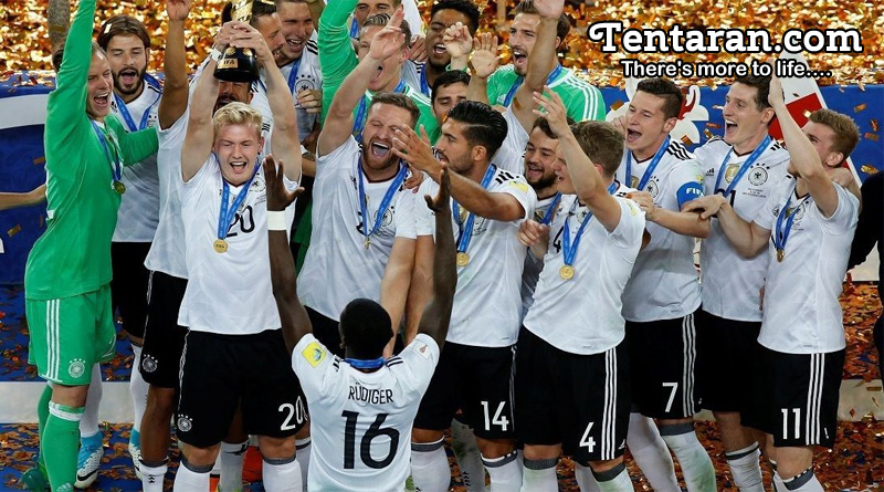 Germany Win First Confederations Cup Title