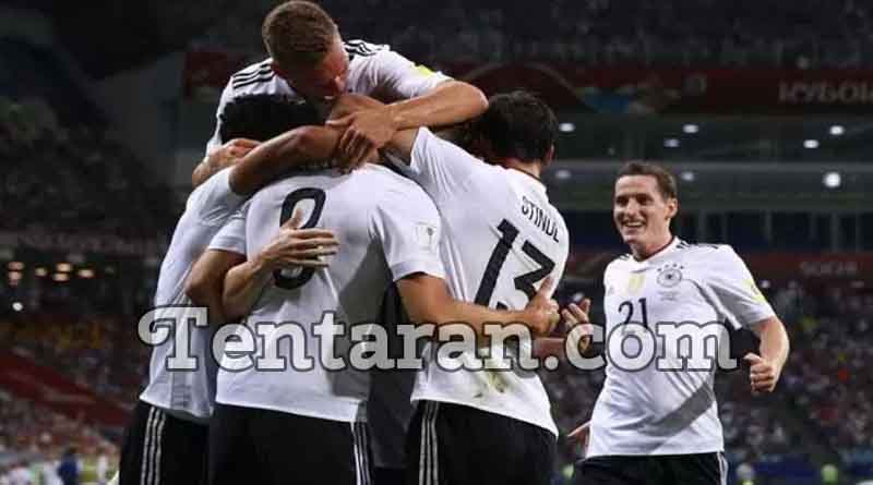 Germany defeated Mexico 4-1