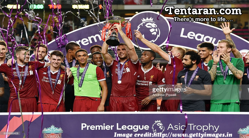 Liverpool Lift The Trophy In Hong Kong