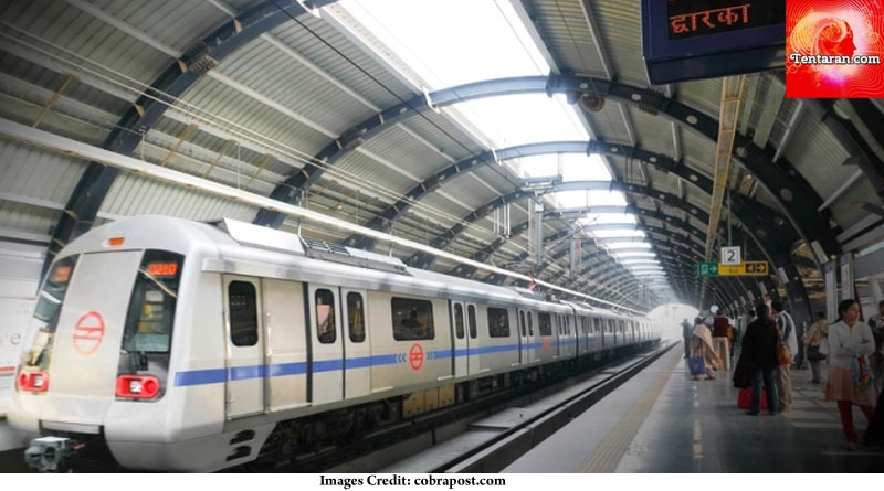 Metro connection to Delhi tourist places