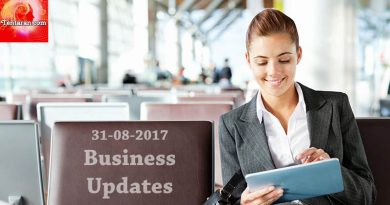 India business news headlines 31st August