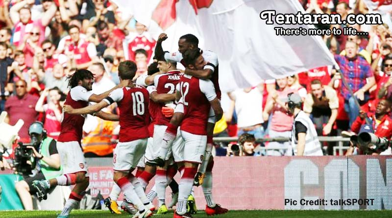Arsenal Defeat Chelsea 4-1 On Penalties