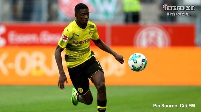 Barcelona agree £135.5m deal for Ousmane Dembele