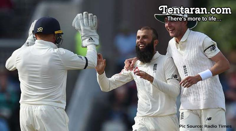 England V West Indies Second Test