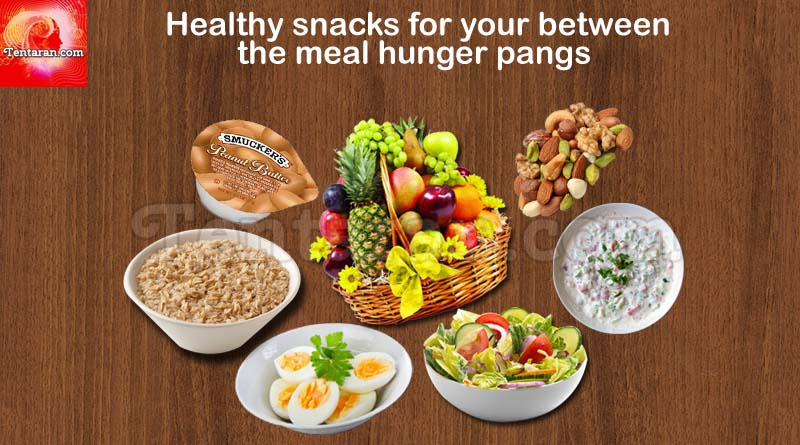 Healthy snacks for your between the meal hunger pangs