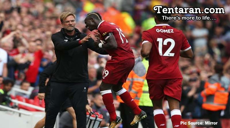 Mane Scores Late To Edge Liverpool Past Crystal Palace