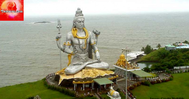 Murudeshwara temple lord shiva biggest sitting posture statue