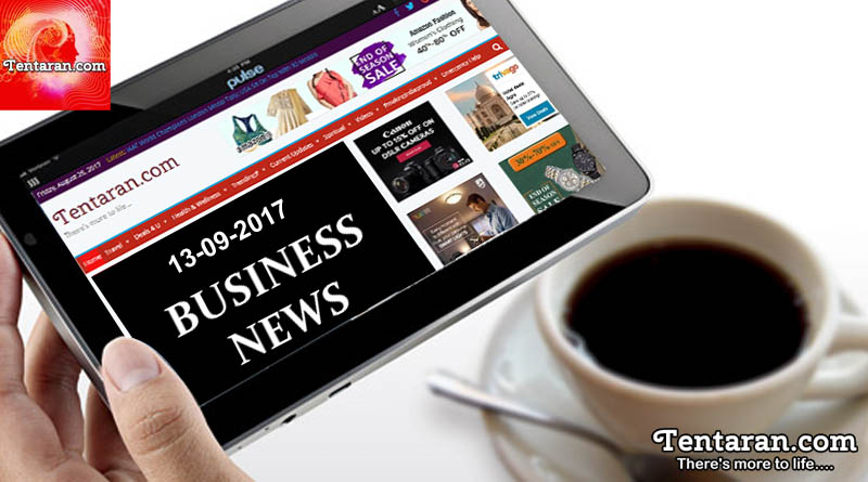 India business news headlines 13th September