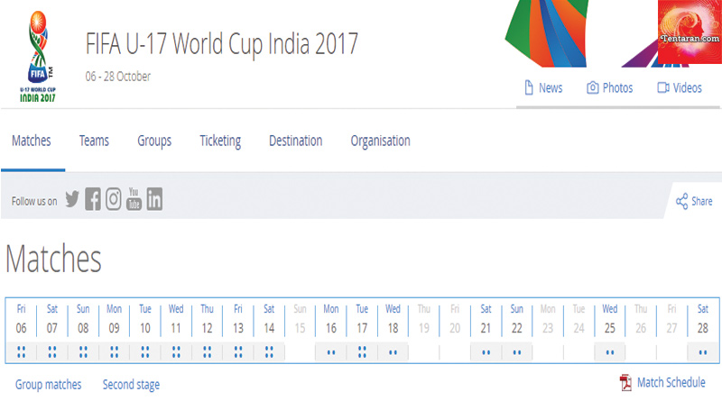 FIFA U 17 World Cup at Kochi