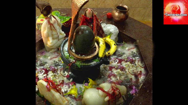 The correct way to offer Jal on Shivalingam ganpati puja