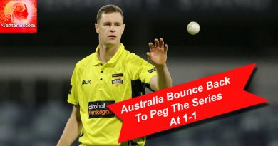 Australia Bounce Back To Peg The Series At 1-1