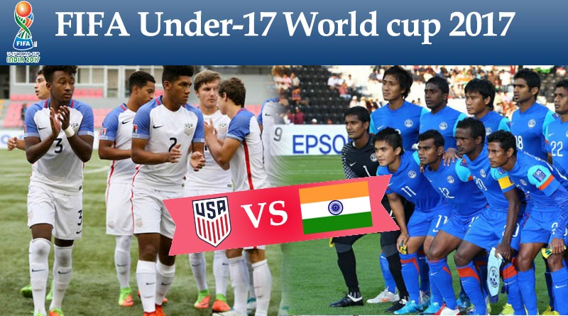 FIFA U17 World Cup 2017 Opening - Day 1: India Vs USA