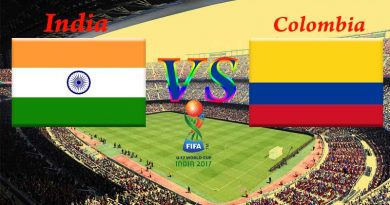 India vs Colombia fifa u17 world cup