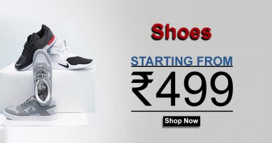Shoes starting from Rs499