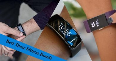 Best Three Fitness Bands