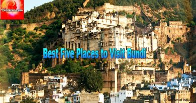 Best five places to visit Bundi