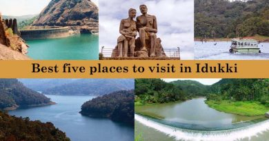 Best five places to visit in Idukki