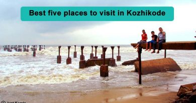 Best five places to visit in Kozhikode