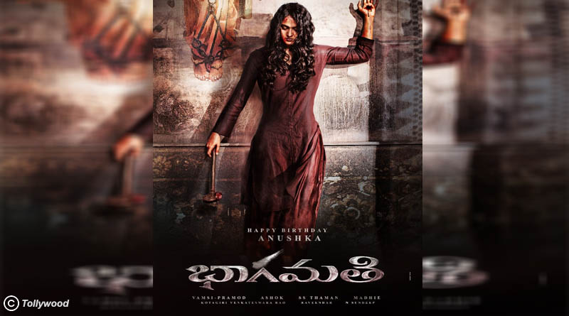 Anushka Shetty's first look in her upcoming movie Bhaagamathie