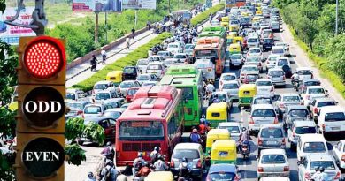 Delhi Odd-Even Row