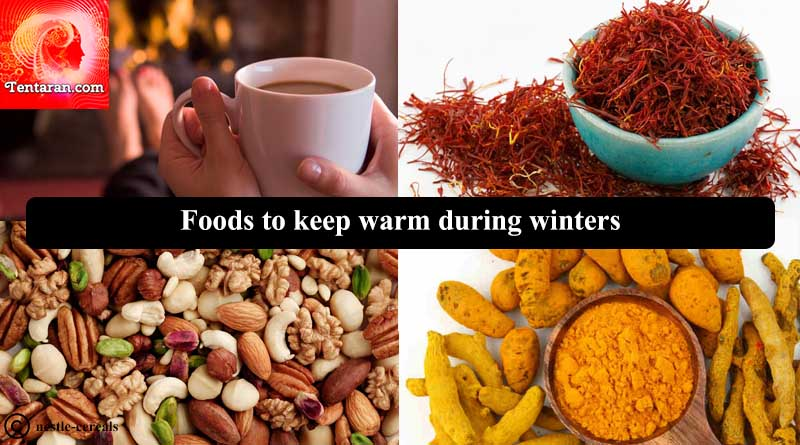 Foods to keep warm during winters