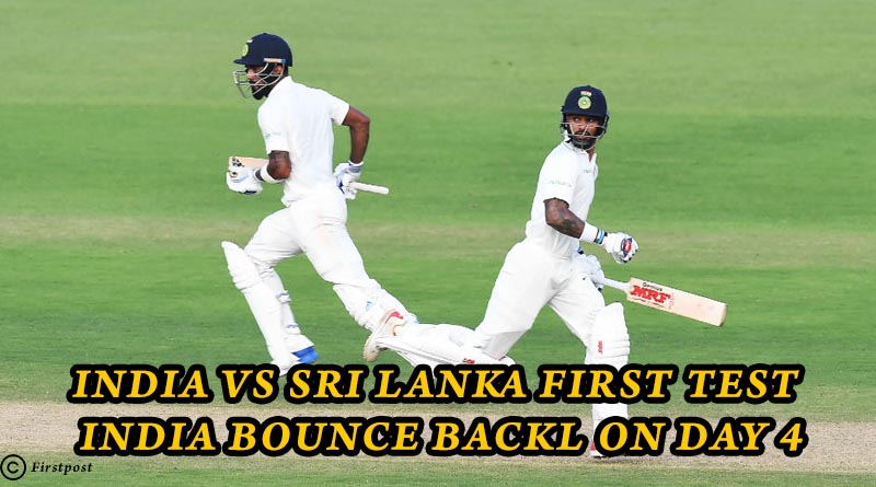 India V. Sri Lanka First Test