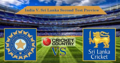 India Vs Sri Lanka Second Test