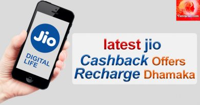 Jio Offers Cashback