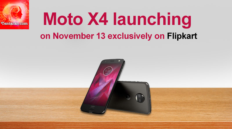 Moto X4 launching on November 13 exclusively on Flipkart