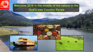 Welcome 2018 in the middle of Nature Kerala