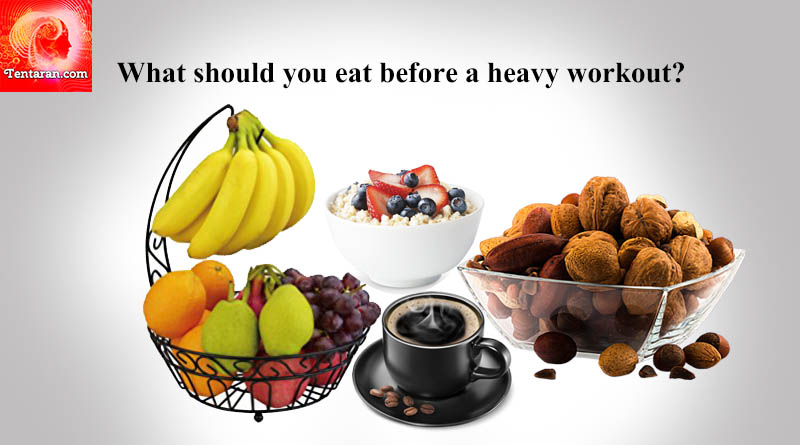What should you eat before a heavy workout