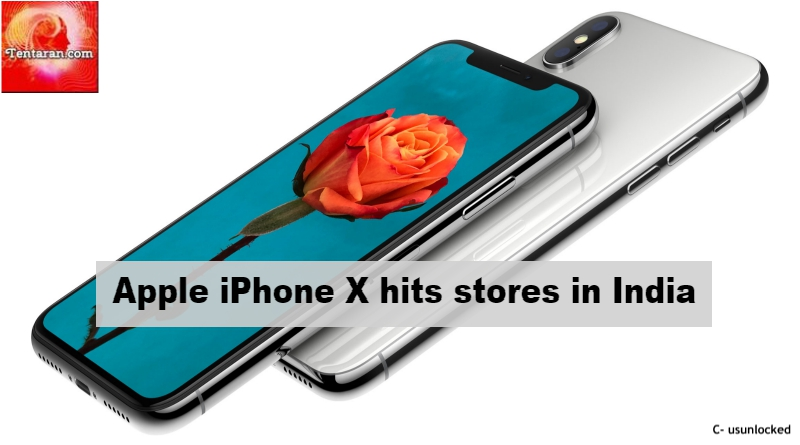 Apple iPhone X hits stores in India | Apple iPhone X on Tata CLiQ