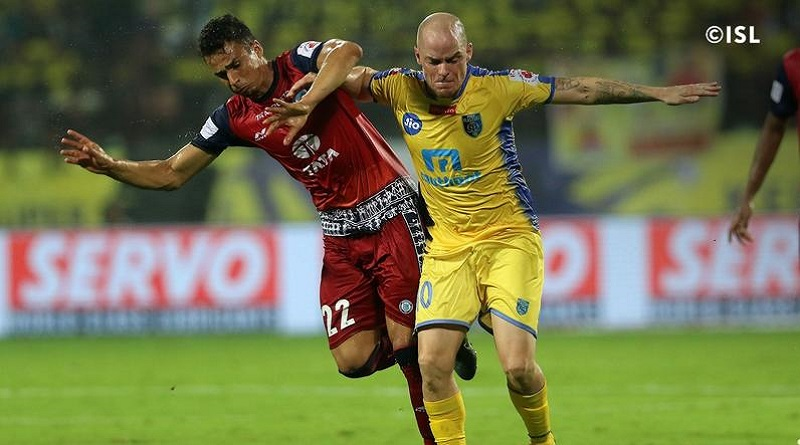 Kerala Blasters And Jamshedpur in Indian Super League