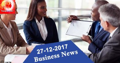 India business news headlines 27th December 2017