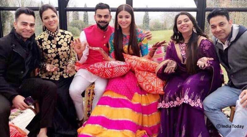 Virat and Anushka Wedding