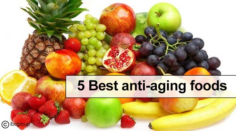 Five best anti-aging foods