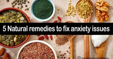 five Natural remedies for anxiety relief