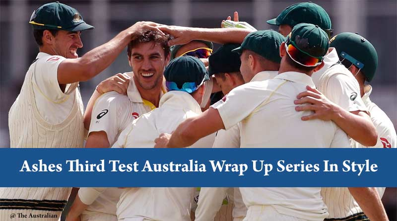 Ashes Third Test Australia Wrap Up Series In Style