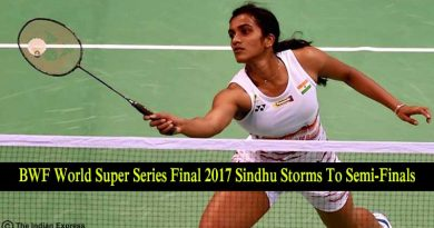 BWF World Super Series Final 2017 Sindhu Storms To Semi-Finals