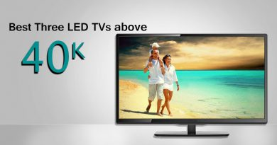 Best Three LED TVs above 40K