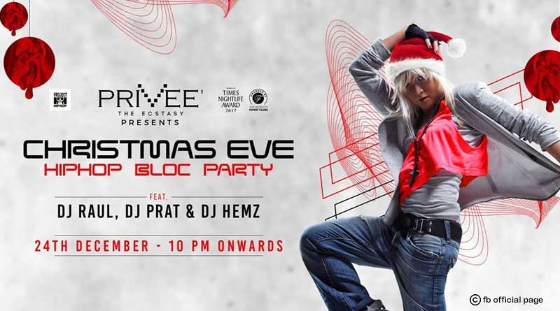 Christmas Eve Hip Hop Bloc Party at Priveé