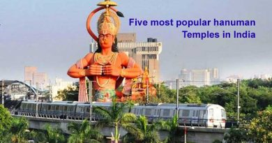 Five most popular Hanuman temples In India