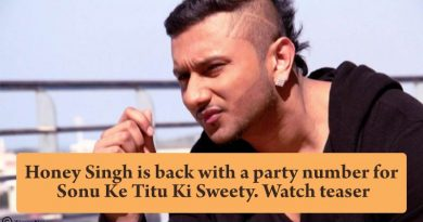 The king Of rap Honey Singh is making a comeback with a party number for Sonu KeTitu Ki Sweety